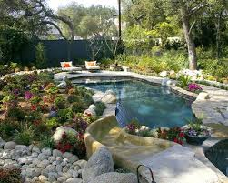 Inground Pool Landscaping Ideas Images About Pools On Pool Landscaping Ideas Cheap Pool