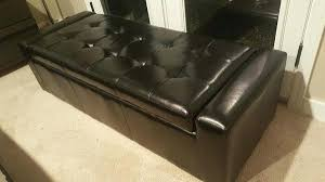 long leather ottoman bench ottoman with storage round u2013 sensuuri info