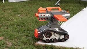 nerf remote control tank nerf n strike elite terrascout remote control drone blasters youtube