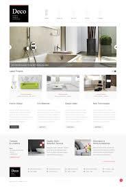 white space interior design joomla template 44182