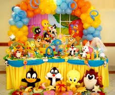 baby looney tunes baby shower decorations backdrop cake dessert candy table baby looney tunes theme