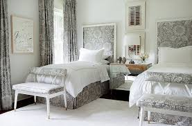 Small Bed Frame Susan Decoration by Inside Suzanne Kasler U0027s Stunningly Serene Atlanta Home U2013 One Kings