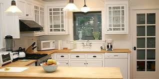 blue kitchen cabinets with wood countertops kitchens with butcher block counters gofoodservice