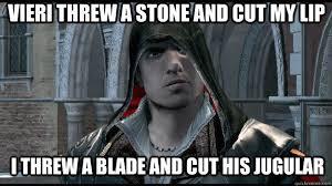 Ezio Memes - insanity ezio memes quickmeme
