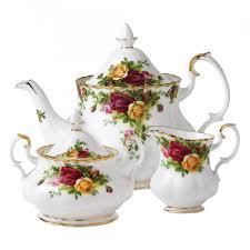 country roses 3 tea set royal albert us