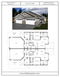 Duplex Blueprints Duplex Plans Dmd Home Plans