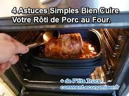 comment cuisiner roti de porc 4 astuces simples bien cuire votre rôti de porc au four