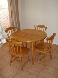 Dark Wood Kitchen Table Kitchen Small Round Table Sets For Kitchen And Dining Room