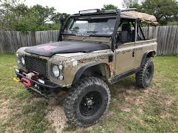 land rover defender convertible for sale beautiful defender 90 soft top adventure headquarters land