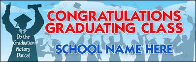 congratulations graduation banner line up graduation banner vb22