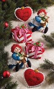 bucilla felt kits bucilla felt applique ornament kit 86244 christmas