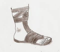 history of sandals roman sandals military footwear