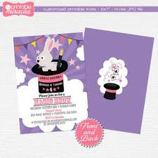 shop magical birthday party invitations on wanelo