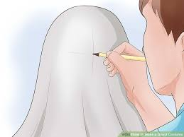 Ghost Costumes How To Make A Ghost Costume With Pictures Wikihow