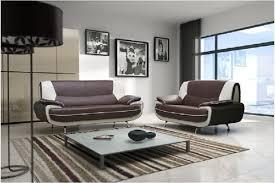 meuble canapé design canapé design 3 2 bregga noir blanc noir gris blanc chocolat