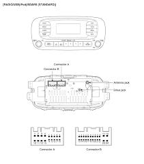 kia soul audio wiring diagram kia wiring diagrams instruction