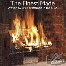 Fireplace Chain Screens - fireplace mesh curtain ebay