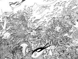 coral reef coloring page melanie deviantart 823558 coloring