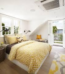 bed with built in headboard shelf ledge cottage bedroom