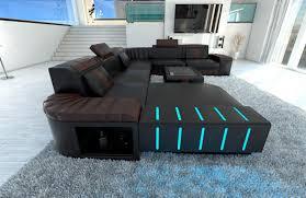 wohnzimmer couch xxl big sofa xxl schwarz grau big sofa marbeya 290x110 schwarz mit