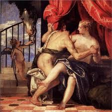 venuars with cupid and a horse paolo caliari il veronese italian