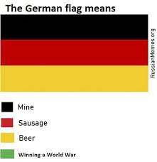 German Meme - german flag means russian memes