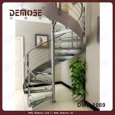 exterior stair design prefab steel stair stringers with wood