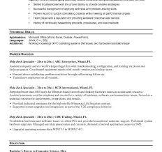 Computer Help Desk Resume Resume Help Mn Resume Ideas