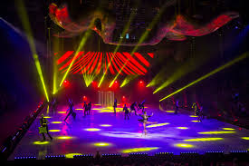 Encompass Lighting Group Parts Time For Robe And Holiday On Ice Live Design