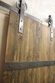 Steel Barn Door by Vintage Classic Sliding Door Hardware Kit 8 Ft Raw Steel