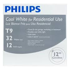 4100k Light Philips 32w 12in 4100k Cool White G10q Circline Fluorescent Light