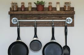 Kitchen Hanging Pot Rack by Hanging Kitchen Racks For Pots And Pans Hanging Kitchen Racks For