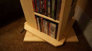 rotating dvd bluray shelf pine youtube