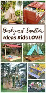 Backyard Sandbox Ideas Diy Outdoor Art Table And Mud Kitchen Rhythms Of Play