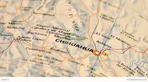 Chihuahua Mexico Map by Chihuahua And Northern Mexico On Map Dolly Stock Video Footage
