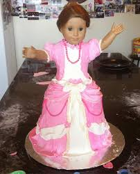 how to make a cake for a girl american girl doll birthday cake kitchen scrapbook