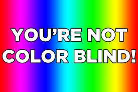 Color Blind Type Test Are You Actually Color Blind