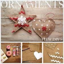 25 unique burlap ornaments ideas on burlap