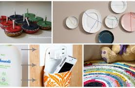 home decoration materials 10 clever diy home decor crafts with actual waste materials