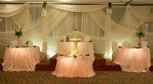 Wedding Head Table Decorations by Head Table Alternative Wedding Pinterest