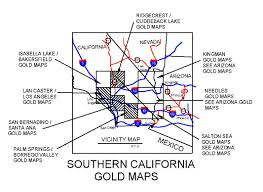 Santa Ana California Map California Gold Maps Treasure Maps Gold Panning Maps Gold