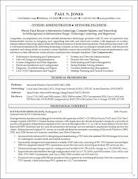 system administrator sample resume resume for your job application