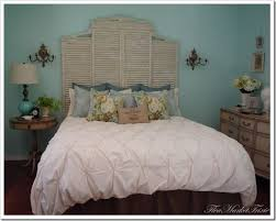Making Headboards Out Of Old Doors by Top 25 Best Shutter Headboards Ideas On Pinterest Country
