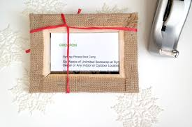How To Wrap A Gift Card Creatively - creative ways to give groupons c r a f t