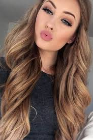 shades of high lights and low lights on layered shaggy medium length 23 light brown hair color with high and low lights light brown