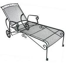 Wrought Iron Lounge Chair Patio The Great Of Iron Table Furniture Design Patio Meta Steel