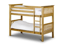 Julian Bowen Barcelona Single Bunk Bed Antique Pine Amazoncouk - Pine bunk bed
