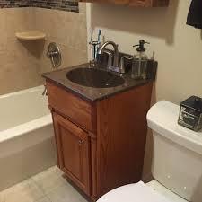 Bertch Bathroom Vanities by Completed Bathroom Remodel Chili Ny U2014 D U0027angelo U0027s Plumbing