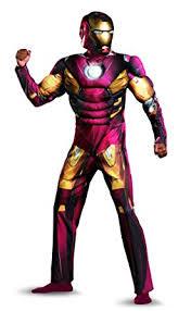Muscle Man Halloween Costume Amazon Disguise Marvel U0027s Avengers Movie Iron Man Muscle