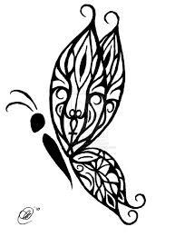 amazing tribal butterfly design tribal butterfly